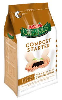 Jobe's Organics Compost Starter 4-4-2 Organic Gardening Compost Accelerator, 4 pound bag