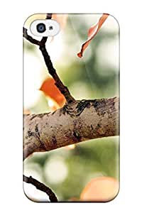 TCoyber6942fTExf Case Cover Protector For Iphone 4/4s Fall Tree Case