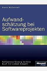 Aufwandsch+â-ñtzung f+â-+r Softwareprojekte Perfect Paperback