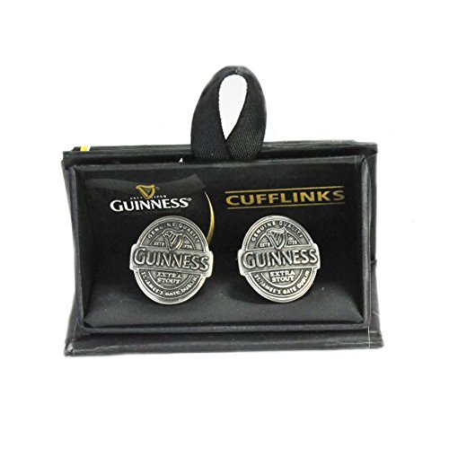 Guinness Label antique look cufflinks (sg) - Guinness Irish Label