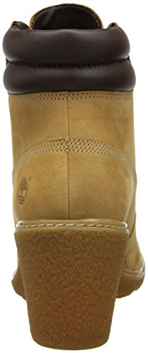 Timberland Amston FTW Damen Kurzschaft Stiefel Braun (Wheat)