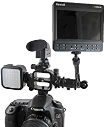 Campro Low Profile Triple Hot shoe Light and Sound Bracket