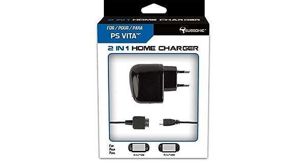 Nobilis - Cargador, USB (PS Vita): Amazon.es: Videojuegos