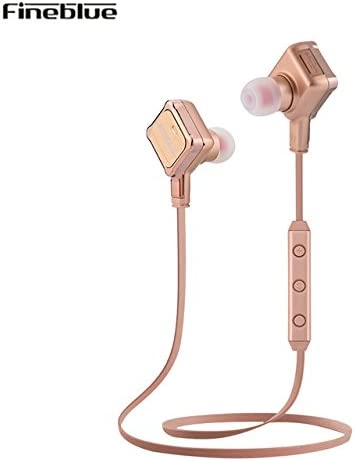 Fineblue FA-90 Wireless Bluetooth Earphone Handsfree Portability scalable Earbud with Microphone Earphone Pink