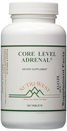 Nutri-West - Core Level Adrenal - 120