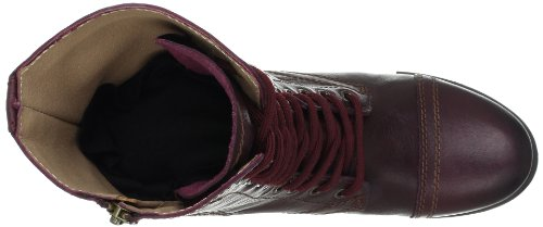 Leather High Top Steve Leather Madden Wine Troopa Women's Boot qSRxtfX