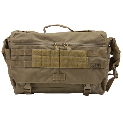 5.11 Rush Delivery Messenger Bag (Sandstone, 1 Size), Outdoor Stuffs
