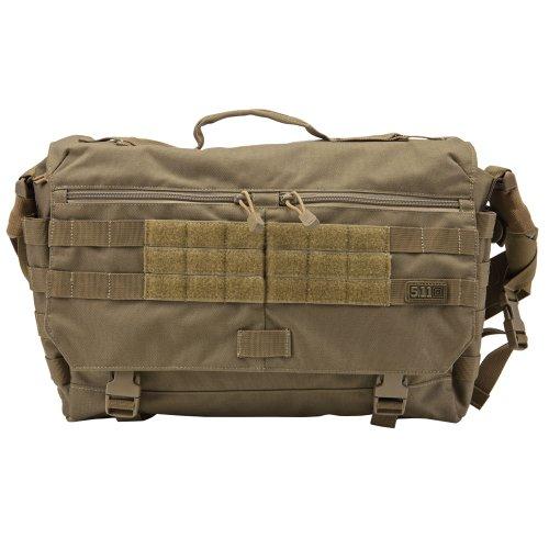5.11 Rush Delivery Messenger Bag (Sandstone, 1 Size), Outdoor Stuffs