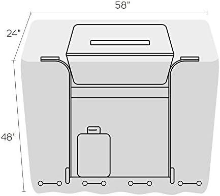 Amazon.com: F&J - Cubierta impermeable para parrilla al aire ...
