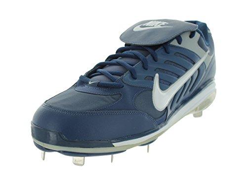 NIKE Men's AIR SLIDER CT BASEBALL CLEATS 15 (PRO BLUE/WHITE) (Slider Air Nike)