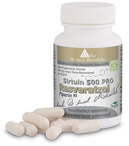 Resveratrol 500 PRO nach Dr. med. Michalzik