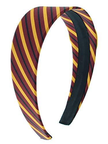 970d66e2d5a Harry Potter Headbands for Women and Girls  Hogwarts Houses Gryffindor  Slytherin Ravenclaw Hufflepuff (Gryffindor