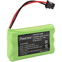INSTEN 2x 3.6V 1000mAh BT446 Battery Compatible with Uniden Cordless Phone