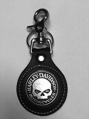 Llavero original de cuero para motoristas de Harley Davidson ...