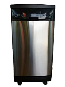 """SOLOROCK Deluxe 18"""" Stainless Steel Portable Dishwasher"""