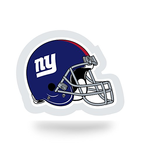 (NFL New York Giants  Team Tattoo, Blue, Red, 5-inches by 3.5-inches by)