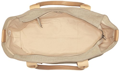 Clarks Tasmin Bella, Borsa con Maniglia Donna, 15x29x48 cm (B x H x T) Beige (Sand Suede)