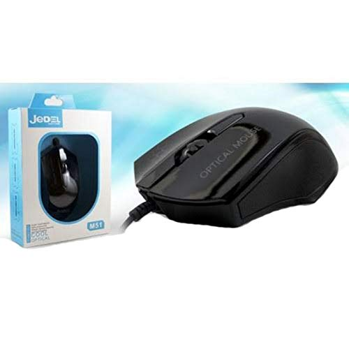 JEDEL Gadin M51BLK Wired Optical Gaming Mouse