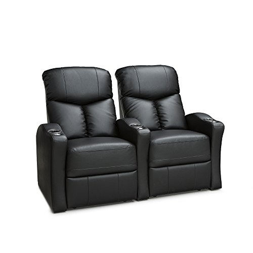 41fwTcanhEL - Seatcraft Raleigh Home Theater Seating Manual Recline Leather Gel