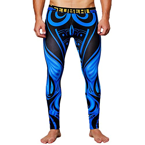 - Most Wished! Teresamoon Men's Print Cotton Breathable Sports Leggings Thermal Long Johns Underwear Pants