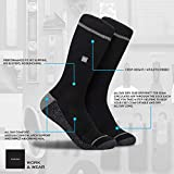 Work & Outdoor True Fit Impact Cushion Sock