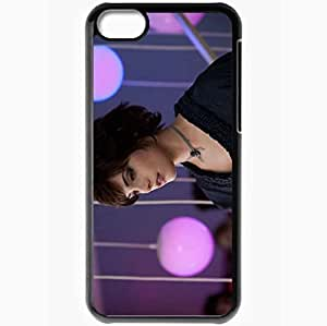 Personalized iPhone 5C Cell phone Case/Cover Skin Ashley Greene Black