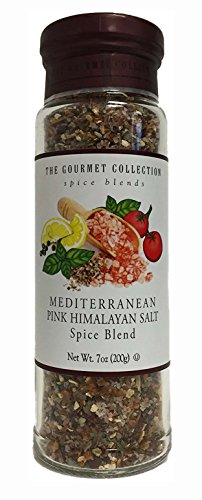 The Gourmet Collection Mediterranean Pink Himalayan Salt Spice Blend