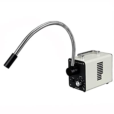 50W LED Fiber Optic Gooseneck Microscope Illuminator