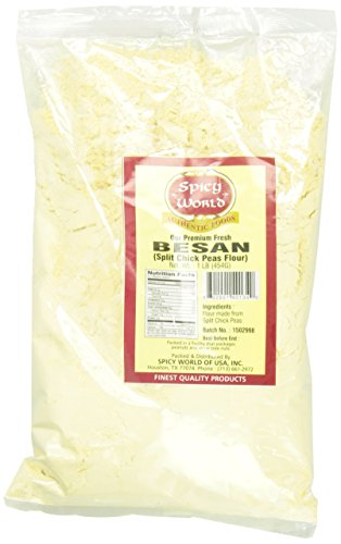 Spicy World Besan Flour, 1-Pound Bags (Pack of 6)