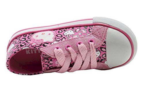 Hello Kitty Girls Fashion Sneakers Hk Lil Leslie Shoes Ae2031 Pink