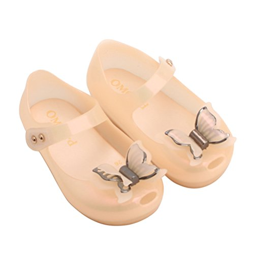 Omgard Baby Shoes Cute Ribbon Bow Jelly Kids Girls Gift Toddler Color