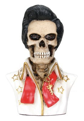 Elvis Collectible Skeleton Figurine