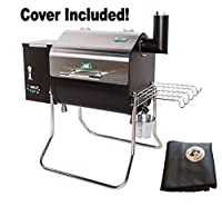Green Mountain Grills Davy Crockett Pellet Grill with cover- WIFI enabled by legendary Green Mountain Grills