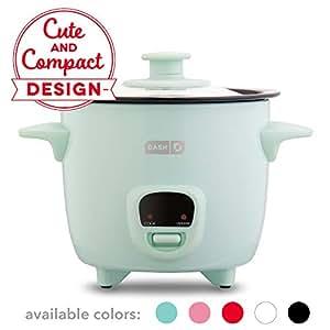 Amazon.com: Dash DRCM200GBAQ04 Mini Rice Cooker Steamer