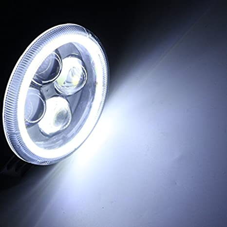 Yoton Luces de Motocicleta 12 V 180 LM proyector de Motocicleta 4 ...