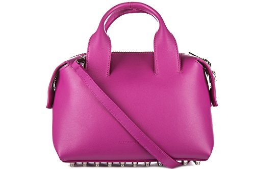 Alexander Wang sac à main femme en cuir rogue rose