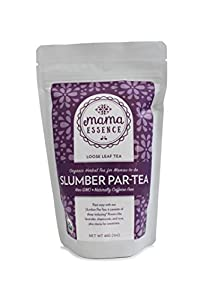 Slumber Par-tea - Mama Essence - Organic Herbal Pregnancy Tea - Relaxation and Sleep Support