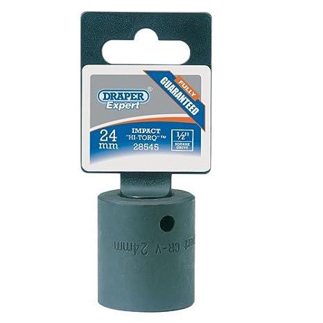 Draper 28545 24mm 1/2-inch Drive Impact Socket Hand Tools Socket Sets
