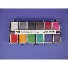 Wolfe Essentials Face Paint Palettes (12 Colors)