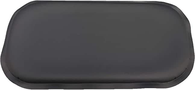 ULTRAGEL Wrist Rest Gel Mouse Pad, 4.5-Inch-by-8.5-Inch, Black