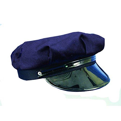 Navy Blue Chauffeur Hat Chauffer Driver Ms.