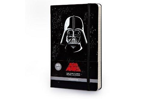 Moleskine 2015 Star Wars Limited Edition Daily Planner, 12 Month, Large, Black, Hard Cover (5 x 8.25) (Moleskine Star Wars) by Moleskine