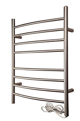 HEATGENE Hot Towel Warmer 30 Inch 8 Bar Stainless Steel Poli