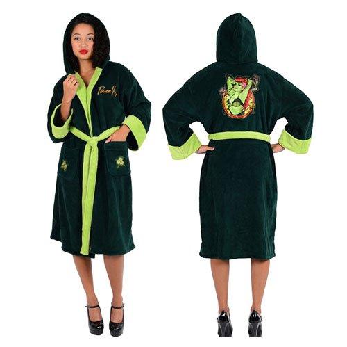DC Comics Poison Ivy Bombshell Ladies Fleece Robe (One Size) Misc. B0167IICFI