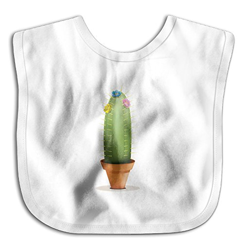 Fun Little Cactus Baby Girls Drooler Bibs