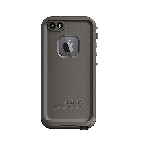 NEW LifeProof FRĒ SERIES Waterproof Case for iPhone 5/5s/SE - Retail Packaging - GRIND (DARK GREY/SLATE GREY/SKYFLY BLUE) (Nuud Iphone 5 Case)