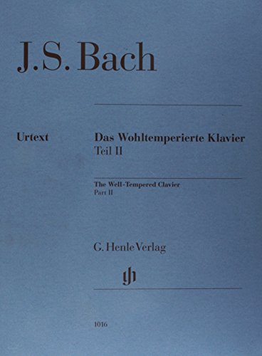 - Bach: The Well-Tempered Clavier - Book 2, BWV 870-893 [Without Fingering]