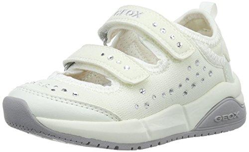 Geox Hideaki I, Bailarinas Para Niñas Blanco (Whitec1000)