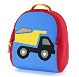 Dabbawalla Bags Toddler Backpack, Race Car