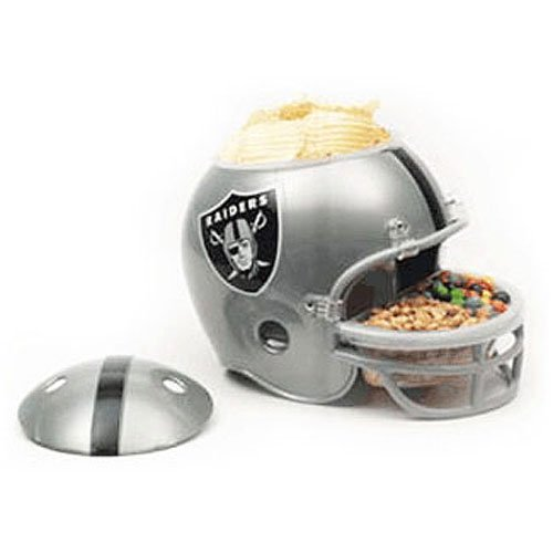 - Oakland Raiders Snack Helmet
